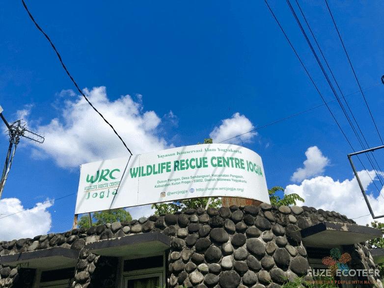 Entrance to Wildlife Rescue Centre, Jogja