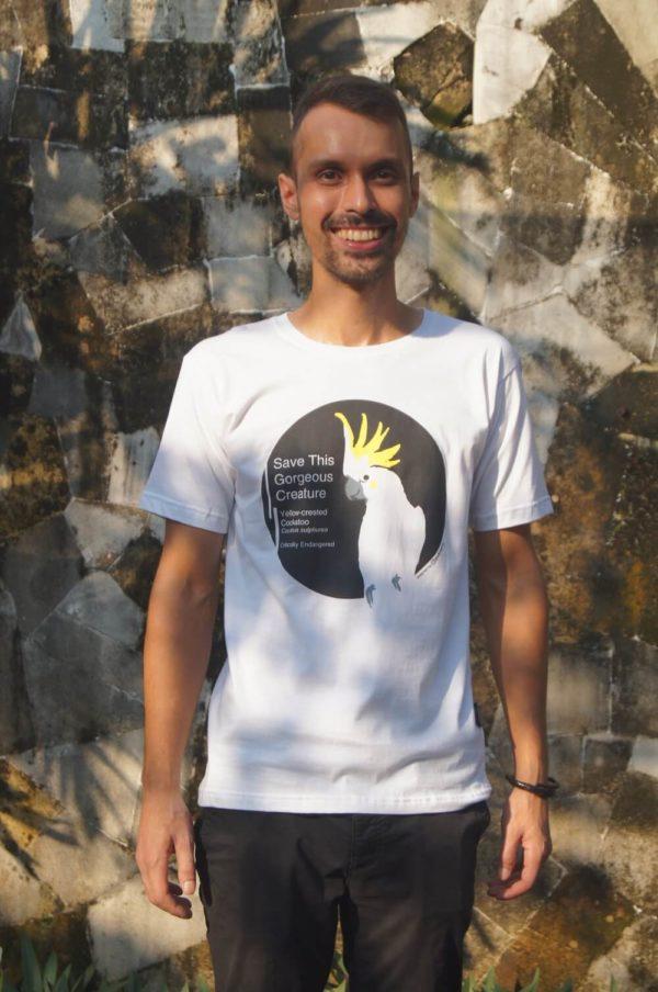 Cockatoo conservation t shirt