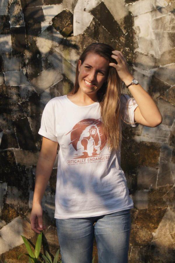 Orangutan conservation T shirt