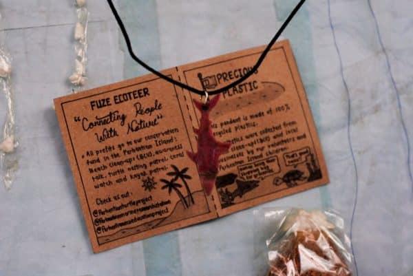 Precious Plastic Shark necklace