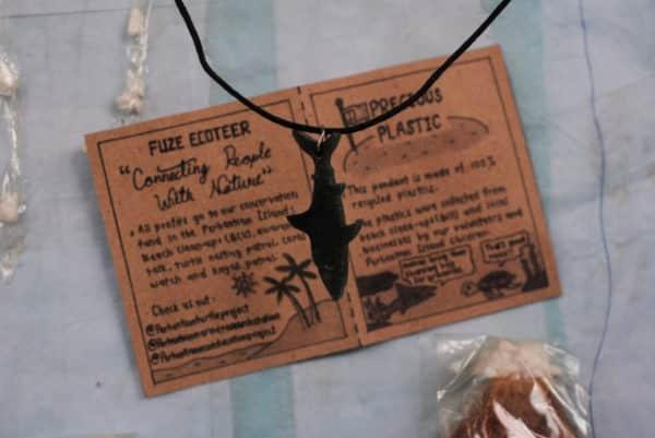 Shark Pendant precious plastic