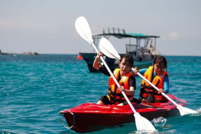 Marine conservation school trip Malaysia