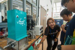 School day precious plastic workshop Malaysia