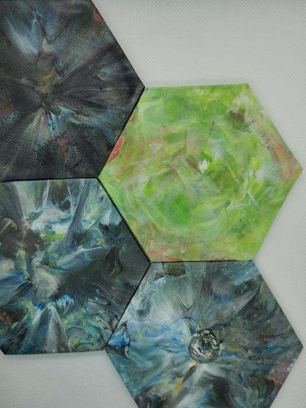 recycled precious plastic coasters