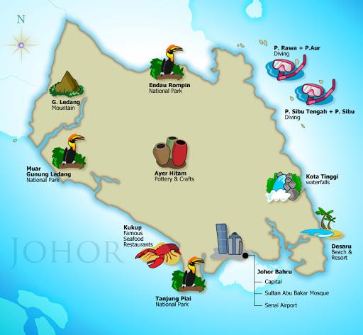 Short getaway in Johor