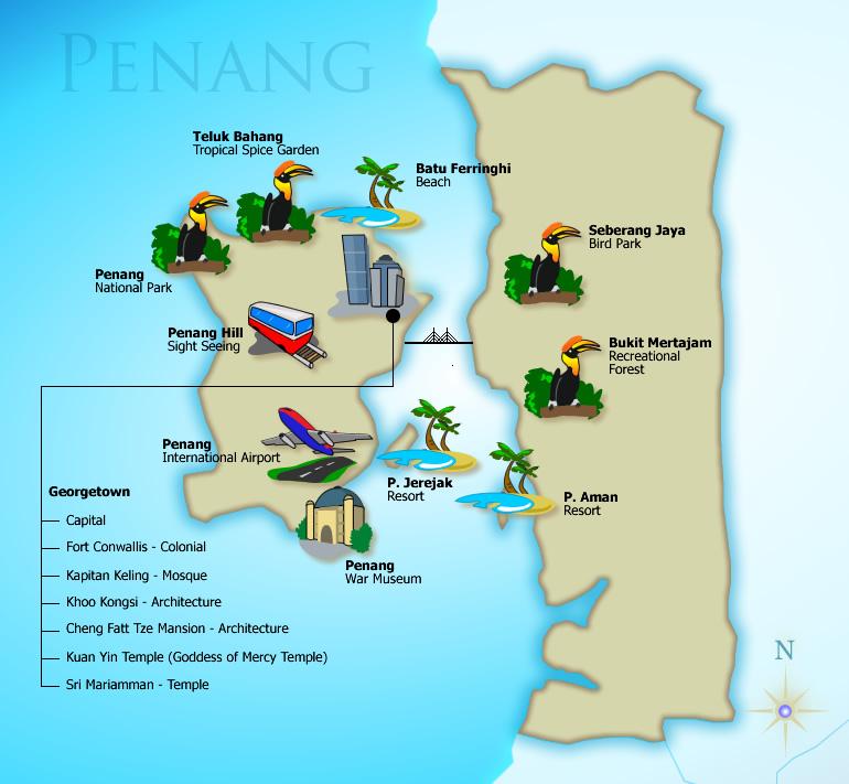 Short getaways in Penang