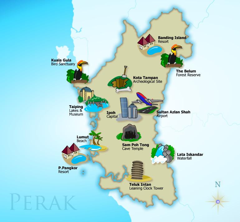 short getaways in Perak